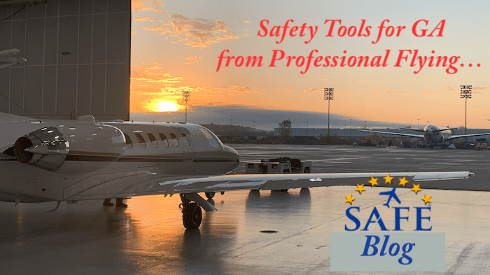 Airlines -vs- GA: Safety Solutions!