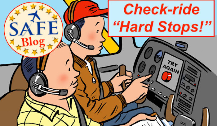 """Avoid DPE """"Hard Stops"""" on Check-Rides!"""