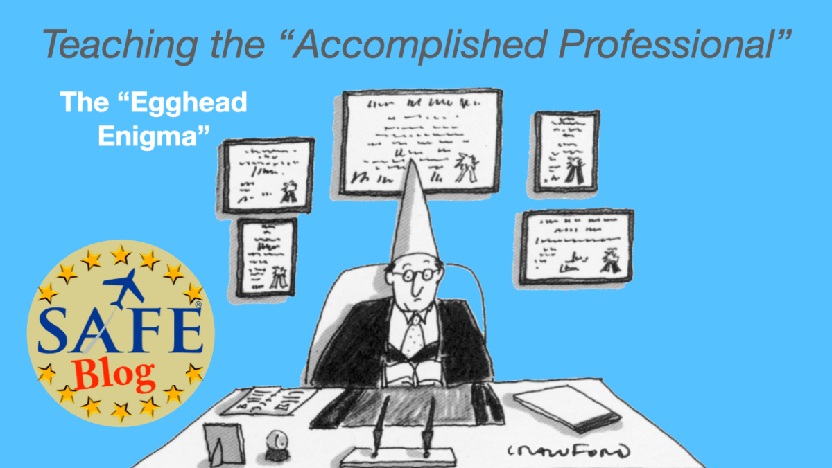 """Teaching """"Accomplished Professionals"""""""