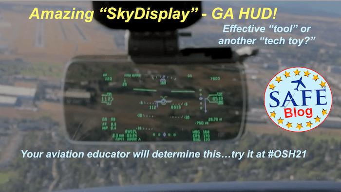 """""""SkyDisplay"""" @SAFE Dinner #OSH21"""