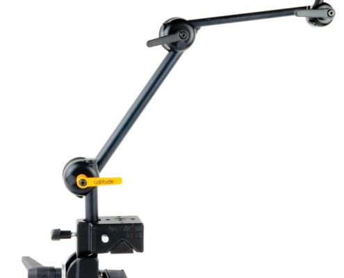 Latitude Mounting Arm provides an ideal balance of strength durability and flexibility