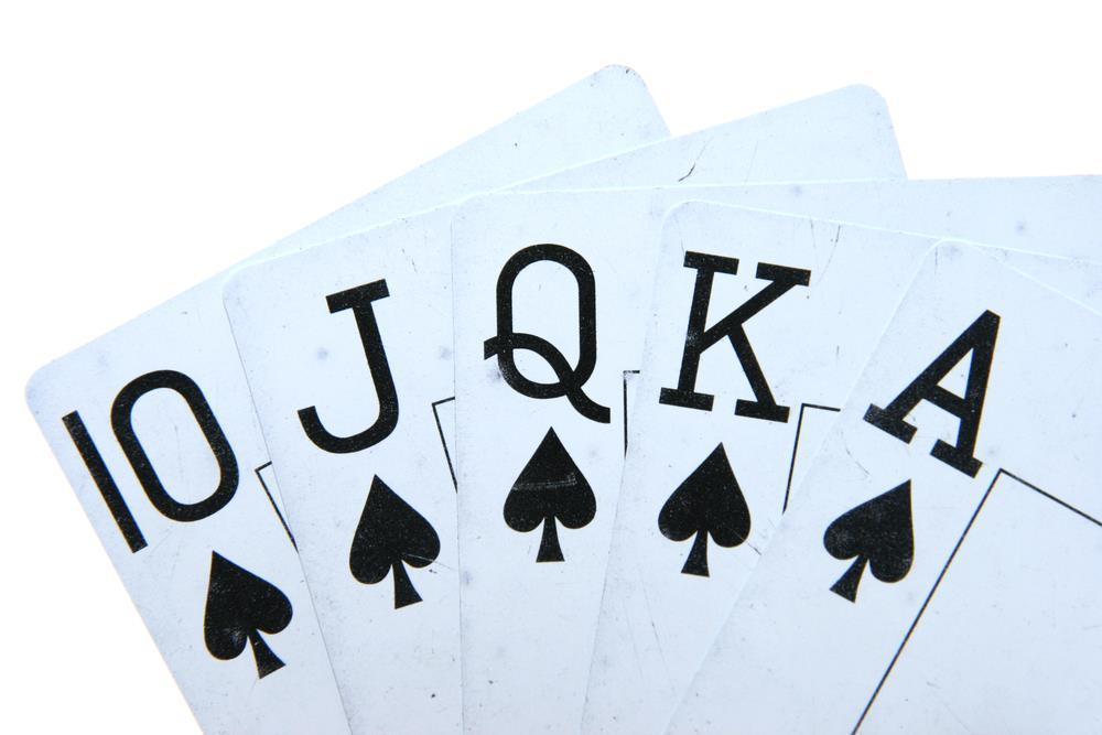 Royal Flush Poker Hand