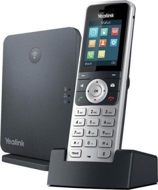 <b> 109,00 €</b>Yealink SIP-W53P DECT IP Phone(W53H Handset & W60B Base Unit Package)