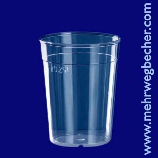 9017--reusable-cup-0,25l-pc-clear-plastic