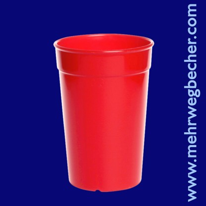 9029-2-reusable-cup-0,3l-pp-red-plastic