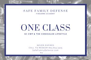 SFD CWP Gift Certificate