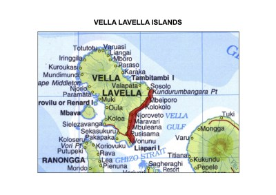 Solomon Islands Exhibition History maps Vella Lavella Islands A3indd