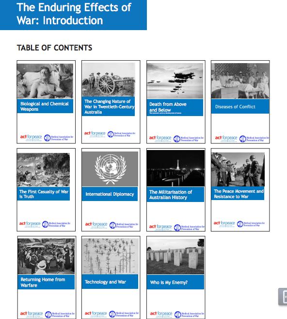 Legacies of war lesson plan