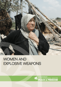 Women, explosive remnants of war