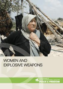 Women, explosive remnants of war