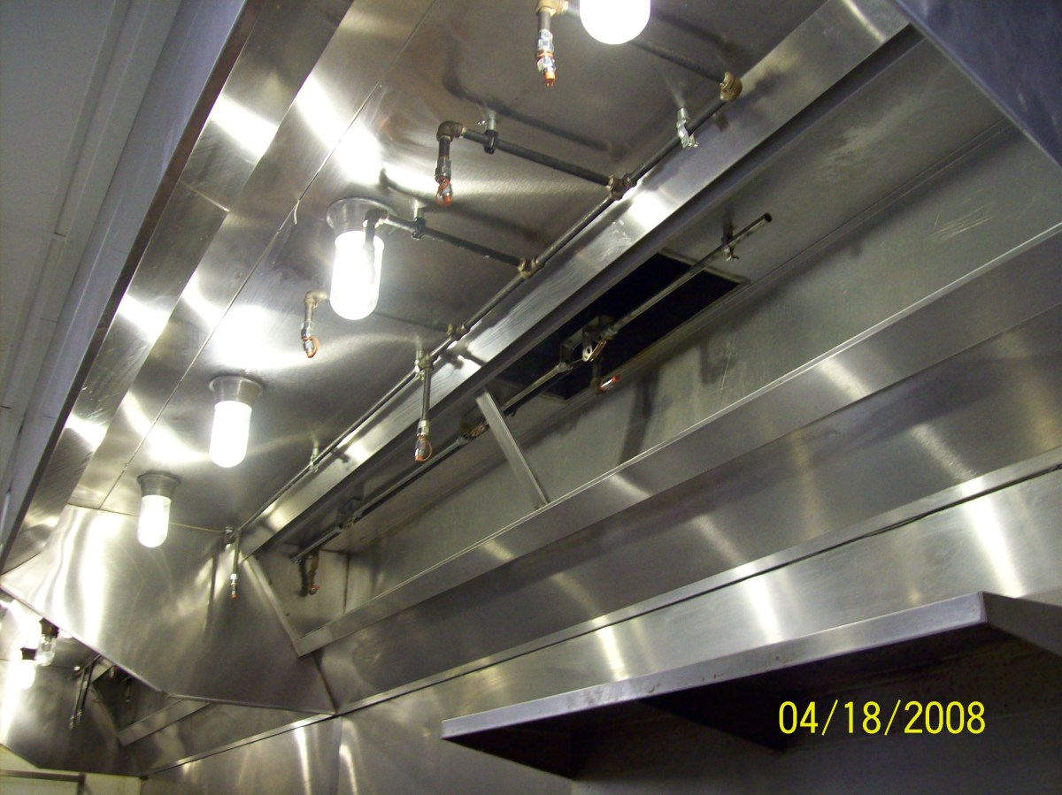 Nfpa 96 Codes Safe Guard Commercial Kitchen Hood Exhaust