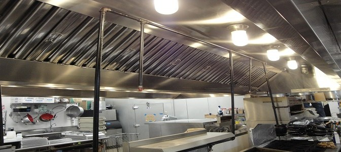 "safe guard commercial kitchen hood exhaust cleaning ""on-site photo"