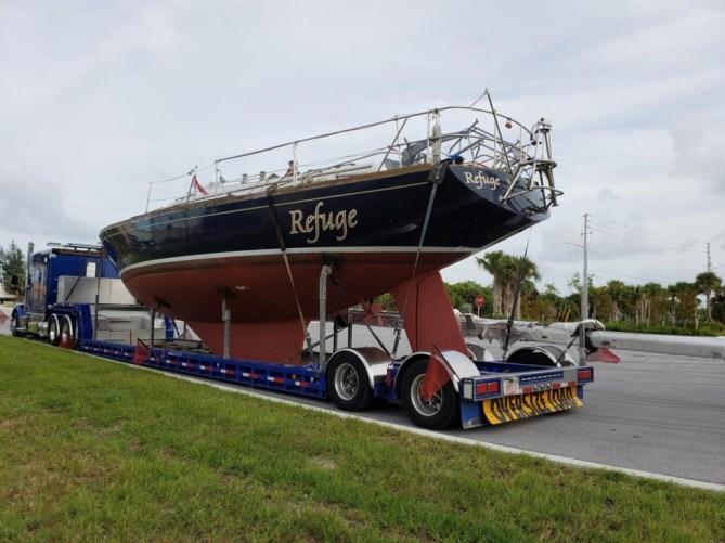 Gulfstar Sailboat Transport
