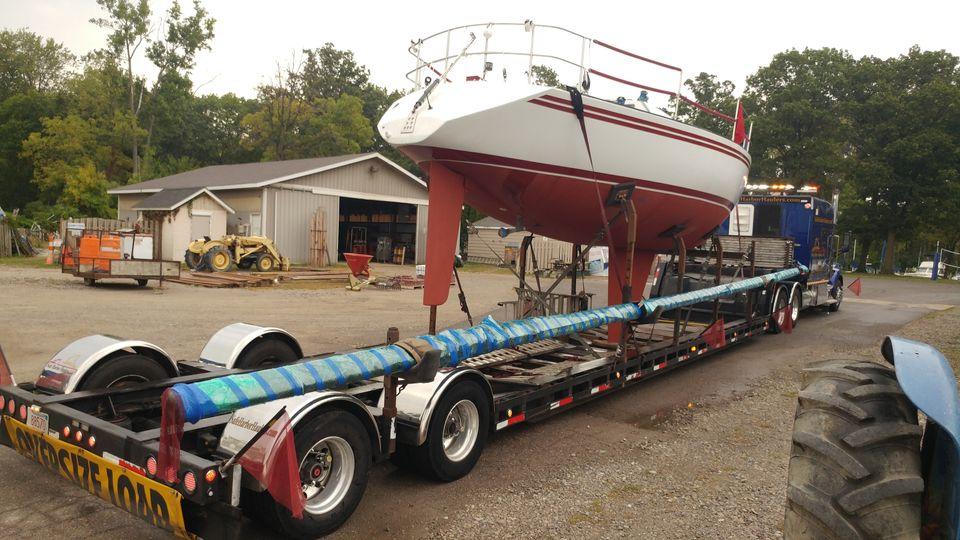 sailboat haulers