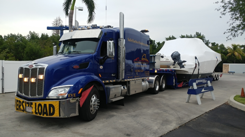 yacht delivery, yacht transport, marine transport, boat hauling service, boat transport companies