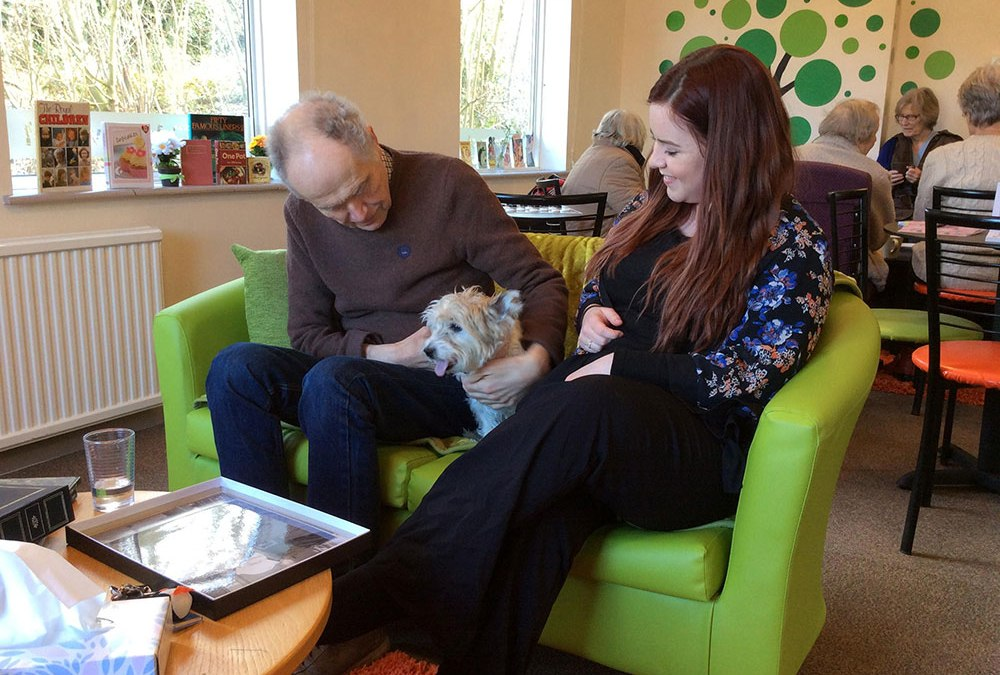 Pet therapy takes the lead at Safe Haven Dementia Centre