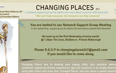 Experienced psychologist guests at dementia support group