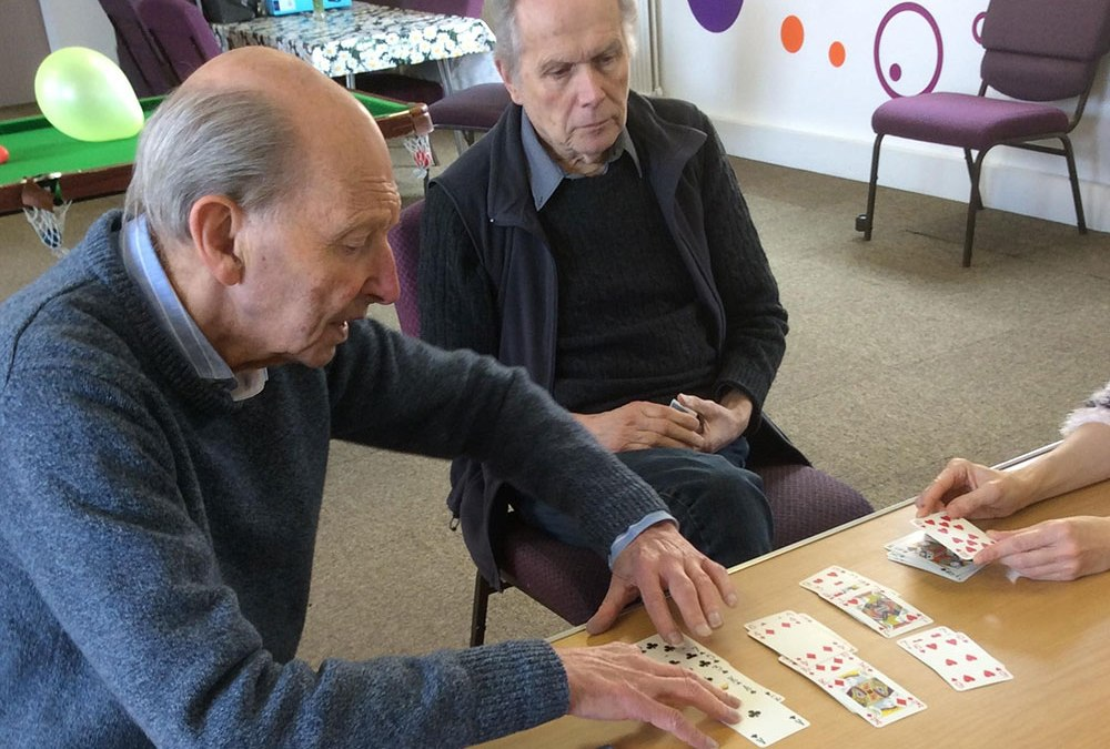 Clients hold all the cards in memory therapy games