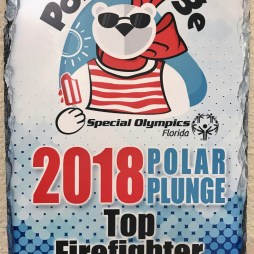 Our Polar Firefighters collected the most support