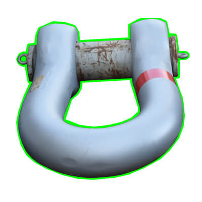 GP P6036 Heavy Duty shackles