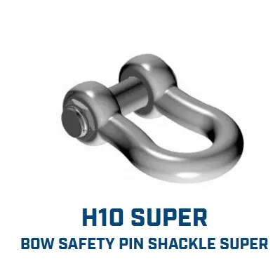 GN H10 Super / Heavy Duty Shackles