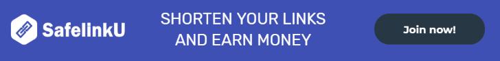 SafelinkU | Shorten your link and earn money