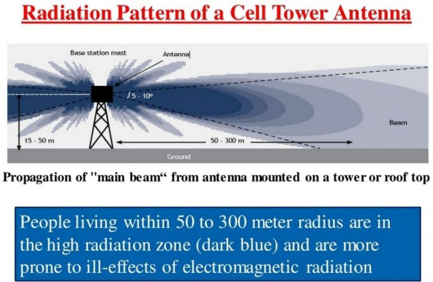 Image result for cell phone tower radiation
