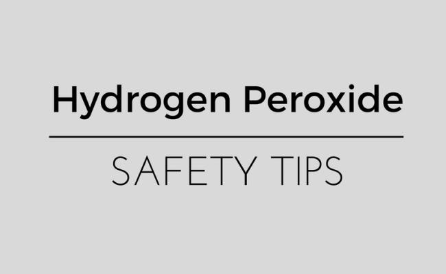 hydrogen peroxide safety