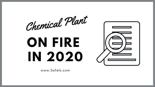 chemical plant on fire 2020