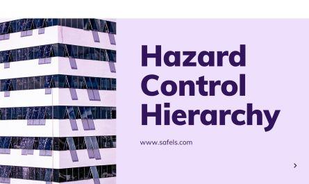 hazard control hierarchy