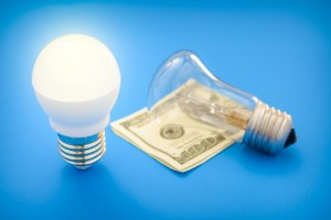 saving money by switching to LED bulbs