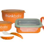 ThinkBaby Stainless Feeding Set