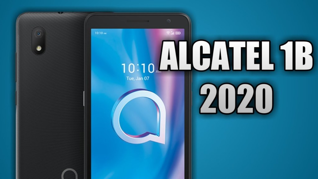 How to boot into safe mode on Alcatel 1B (2020)