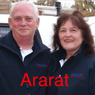 Robert and Geanie 190 Ararat