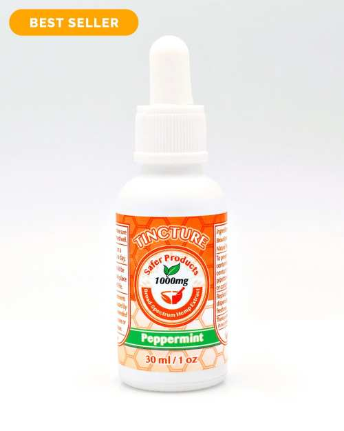 CBD Peppermint Tincture Oil 1000mg
