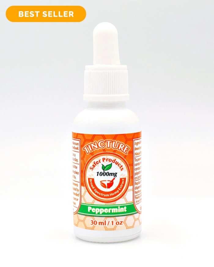 CBD Peppermint Tincture Oil 1000mg