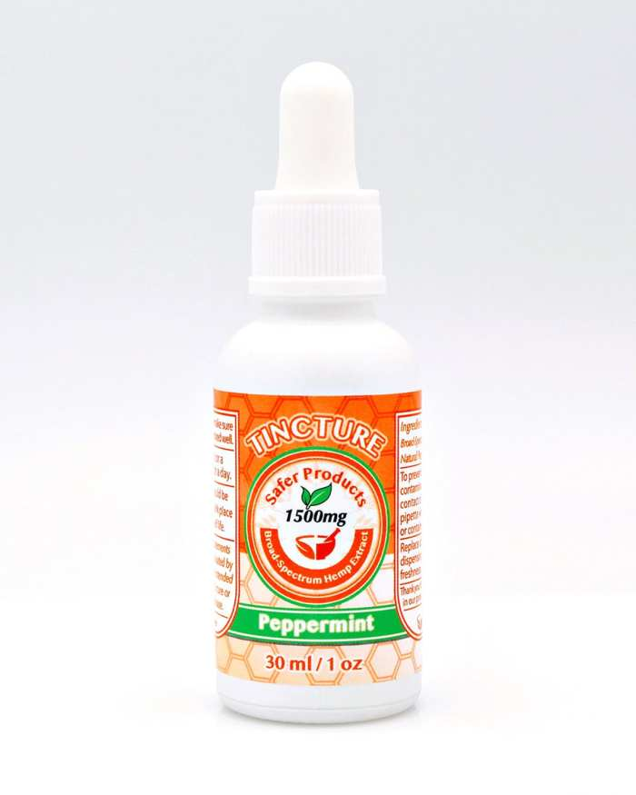 CBD Peppermint Tincture Oil 1500mg