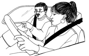 Teen Driving with Dad