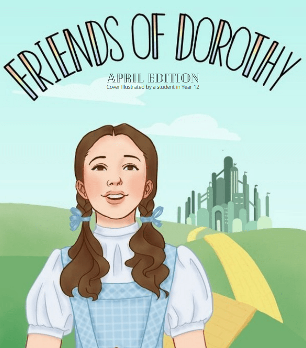 A picture of Dorothy from 'The Wizard of Oz'