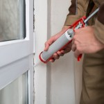 Keep bugs out of your house: caulk around windows
