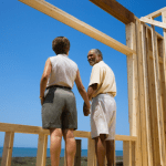 Couple building new home