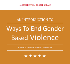 Way To End Gender Based Violence