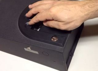 biometric gun safe small