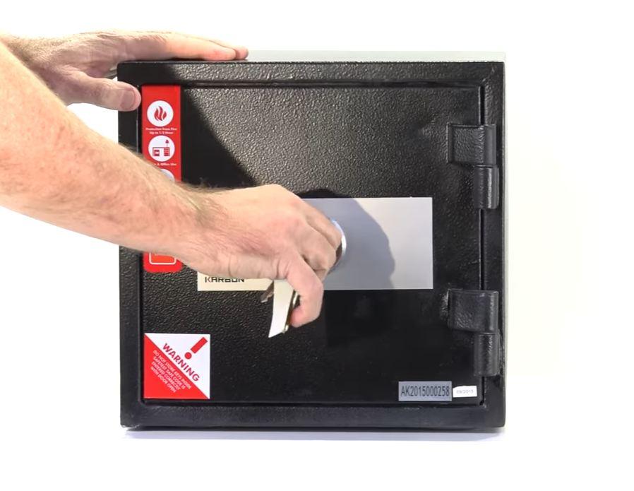 fireproof wall safe