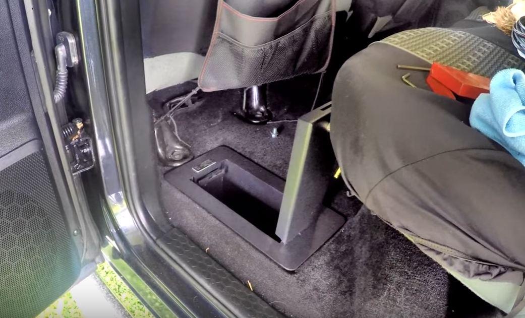 hidden safes for cars