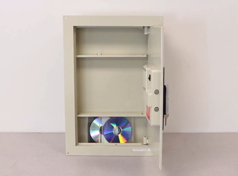in wall gun safe