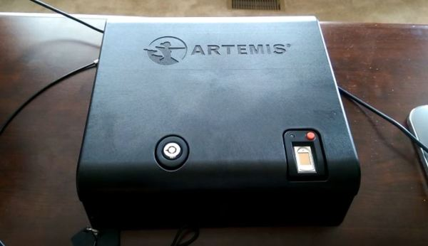 liberty biometric gun safes