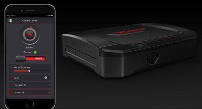 stack-on biometric gun safe