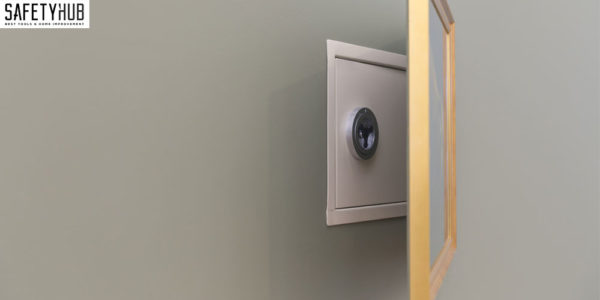 built in wall safes residential_5