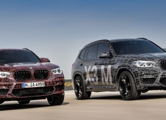 BMW reveals X3 M and X4 M
